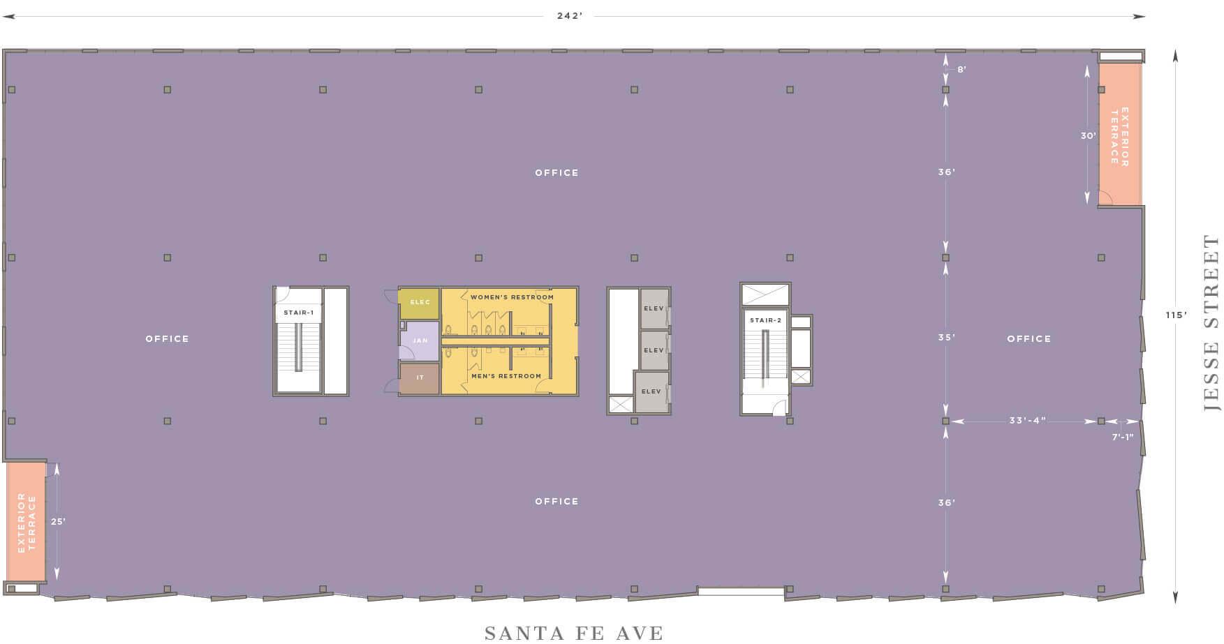 floor 4 m 1