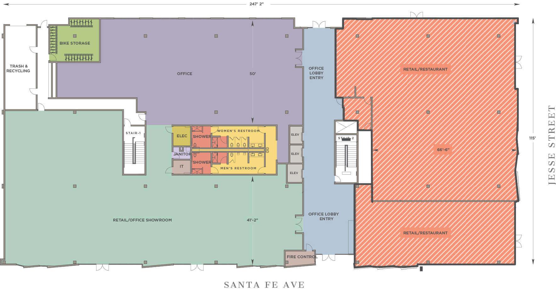floor retail m 1